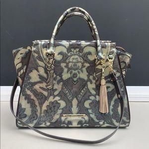 Brahmin Priscilla Satchel Bronze Grazioso bag.